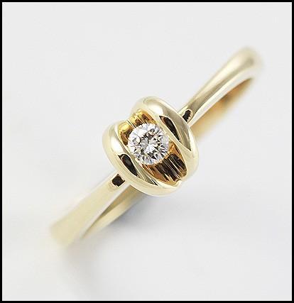 diamond love heart ring