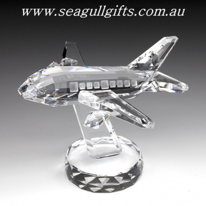 Crystal Aeroplane, Crystal Aircraft  Ornament
