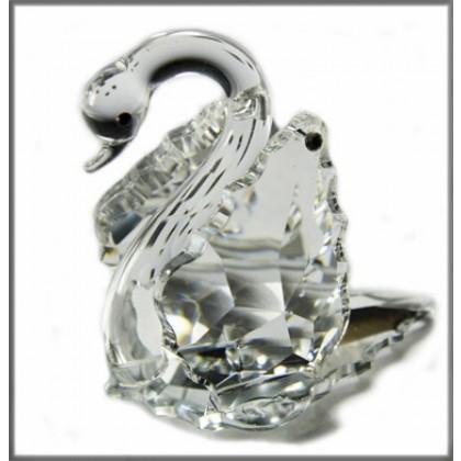 Crystal Swan Princess Ornament