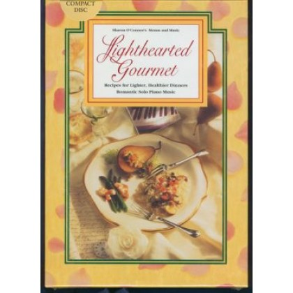 GIFT SET: LIGHTHEARTED GOURMET  COOK BOOK & EASY LISTENING MUSIC CD