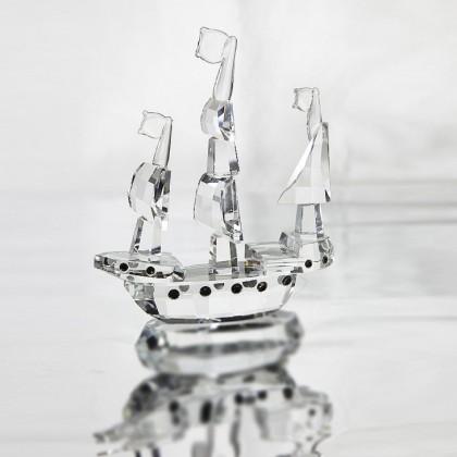 Crystal Boat,Sailing Boat.