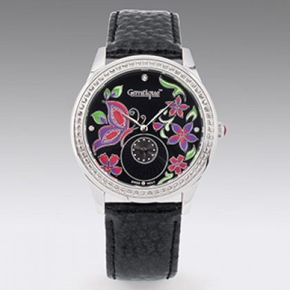 Ladies or Mens Evening Watch Swarovski Crystal