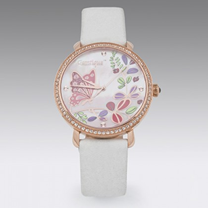 Evening Ladies Watch with Swarovski Crystal