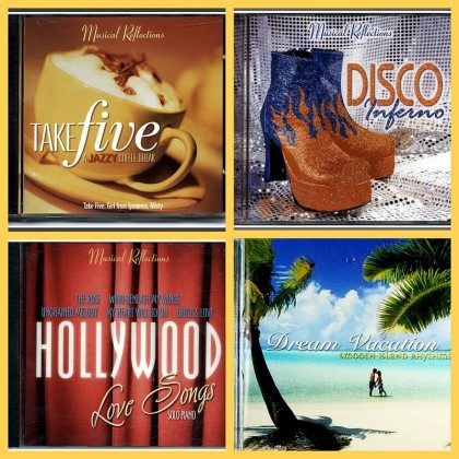 4  MUSIC CD'S, Jazz, Disco, Love Songs
