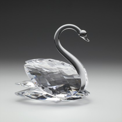 Crystal Swan Figurine Ornament (Extra Large)