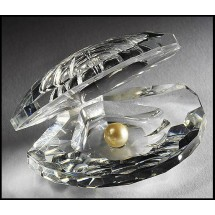 Loading image - Crystal Shell, Clam with Pearl