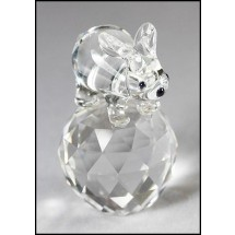 Loading image - Crystal Rabbit Bear, Animal Figurines