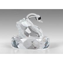 Crystal Figurines, Elegant Swan
