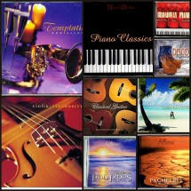 Loading image - 9 MIXED MUSIC CD'S, Easy Listening, Guitar, Piano, Violin and Nature