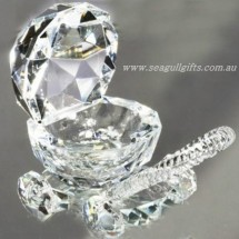 Loading image - Crystal Pram Ornament