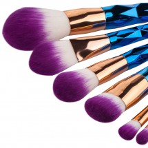 Loading image - 7pcs Unicorn Powder Blending Make Up Brush Set