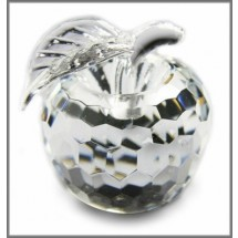 Crystal Apple Ornament (Large)
