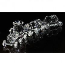 Loading image - Crystal Train Set Ornament