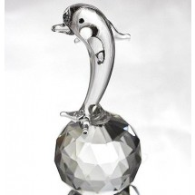 Loading image - Crystal Dolphin Figurine