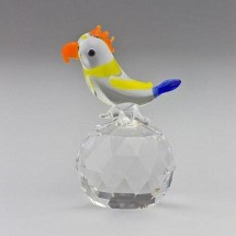 Loading image - Crystal Parrot Animal Figurines