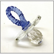Loading image - Blue Crystal Dummy Figurine for Boys