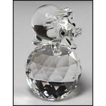 Loading image - Crystal Pig,Crystal Piglet Ornament