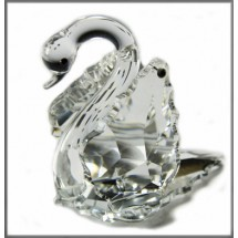 Crystal Swan Ornament