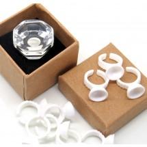 Loading image - Crystal Glue Ring for Individual Eyelash Extensions