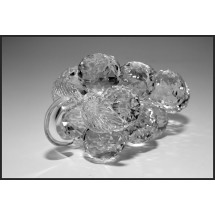 Crystal Grape Figurine