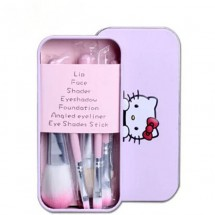 Loading image - Hello Kitty Mini Make Up Brush Set