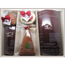 Loading image - 5 Piece Bathroom Cake Towel, Face Washer Decoration Set