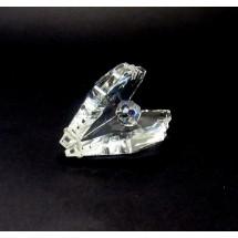 Loading image - Crystal Pearl Crystal Shell Figurine