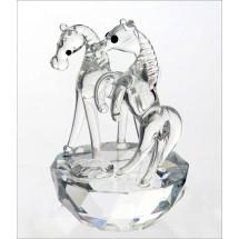 Crystal Horse Figurine