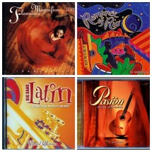 SET 4 MUSIC CD'S, Spanish Latin Style