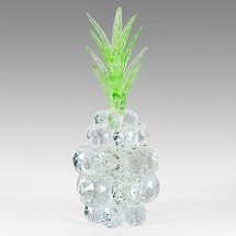 Crystal Ornament Pineapple , Large Solid Crystal