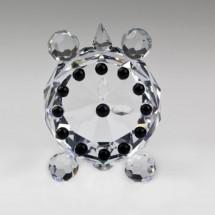 Loading image - Miniature Figurine Crystal Clock