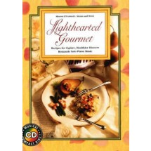 Lighthearted Gourmet Cook Book,Recipes for Healthy Meals,Boxed Set.