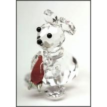 Loading image - Miniature Crystal Rabbit Figurine