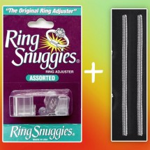 Assorted Ring Snuggies, Ring Resizing Solution