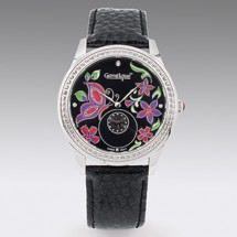 Loading image - Ladies or Mens Evening Watch Swarovski Crystal
