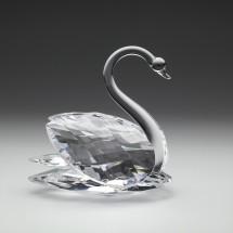 Loading image -  Crystal Swan Figurine