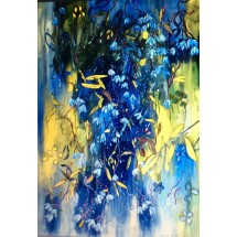 Loading image - Stars of the Earth, Original Painting by Artist Season Heise