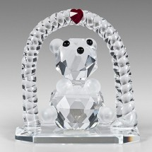Loading image - Crystal Baby Ornaments, Teddy Bear