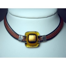 Designer Necklace Handcrafted in Israel by Janart